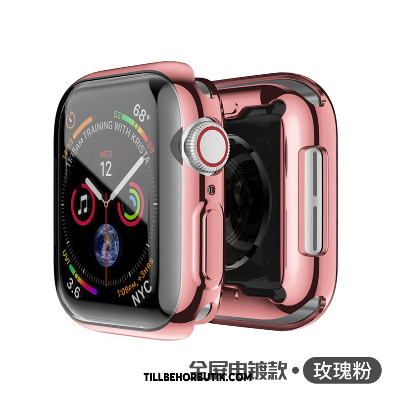 Apple Watch Series 2 Skal Metall Universell Skydd, Apple Watch Series 2 Fodral Rosa Transparent