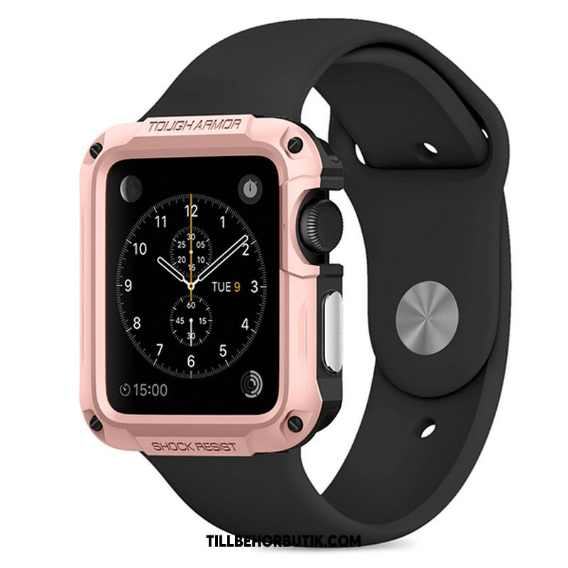 Apple Watch Series 2 Skal Skydd Sport Rosa Guld, Apple Watch Series 2 Fodral Friluftsliv