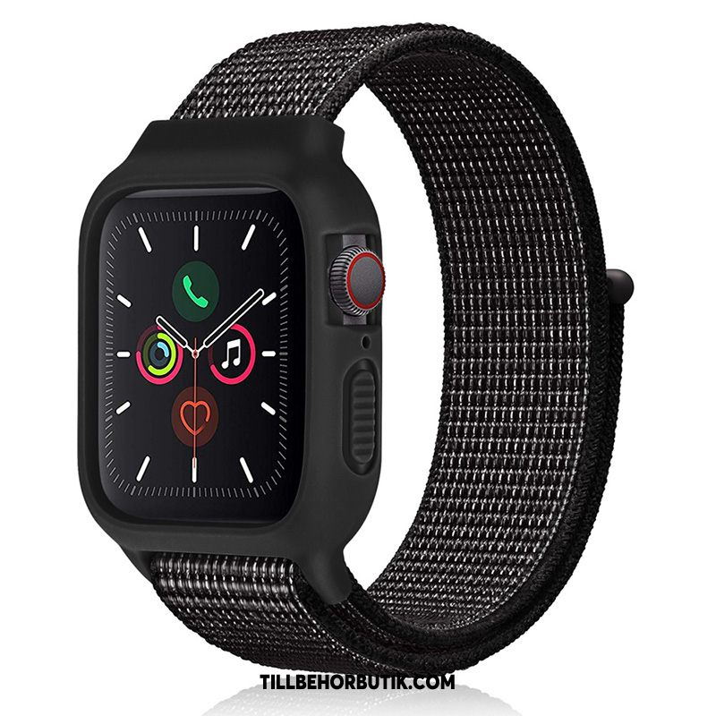 Apple Watch Series 2 Skal Sport Svart Ny, Apple Watch Series 2 Fodral Silikon Trend