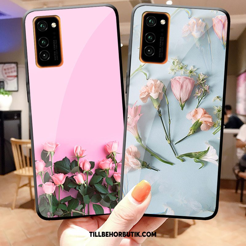 Honor View30 Pro Skal Mode Liten Kyla, Honor View30 Pro Fodral Silikon Blommig