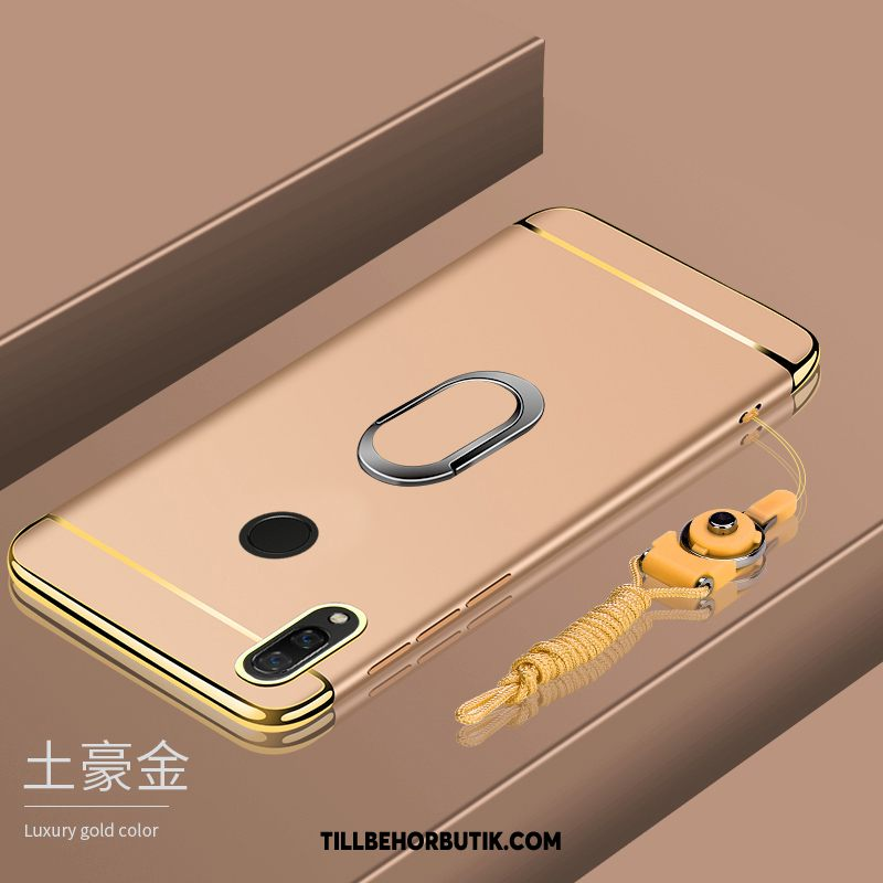 Huawei P Smart 2019 Skal Guld All Inclusive Magnetic, Huawei P Smart 2019 Fodral Ring Härdning