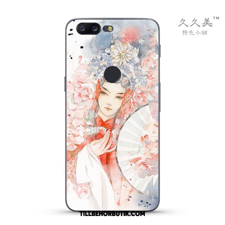 Oneplus 5t Skal Peking Opera Skydd Fallskydd, Oneplus 5t Fodral All Inclusive Rosa
