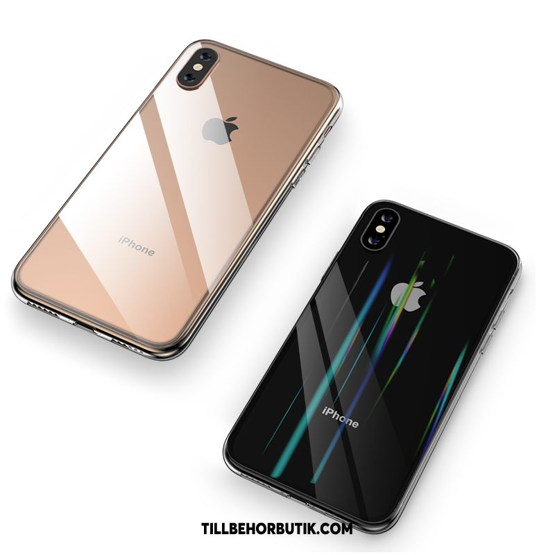 iPhone Xs Max Skal Slim Transparent All Inclusive, iPhone Xs Max Fodral Mobil Telefon Fallskydd